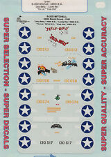 1/72 SuperScale Decals B-25D Mitchell 345th BG Jelly Belly Tin Liz 72-691