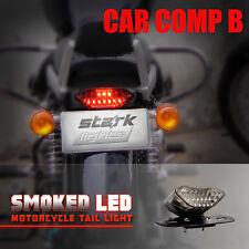 LED Turn Signal Brake License Plate Integrated Tail Light Motorcycle Quad ATV -D