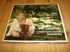 Isabelle Faust brahms violin concerto Harmonia Mundi CD New signed Neuf signé