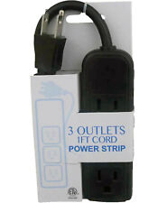 ProHT Power Strip 3-Outlet Extension Cord with dedicated ground  Model 03885