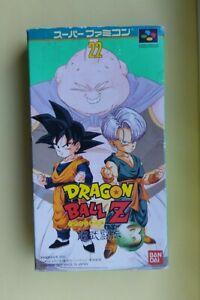 Dragon ball Z 3 Chou butouden Super Famicom SNES JAP Boxed Japan Japanese Game