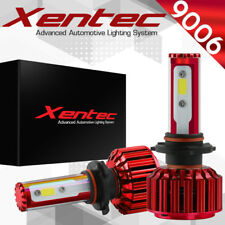 XENTEC LED HID Headlight kit 9006 White for 1987-2005 Pontiac Bonneville