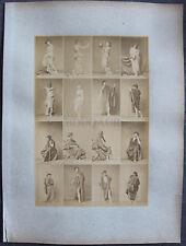 Louis IGOUT Nus Académiques Calavas circa 1875 tirage albuminé Hommes/Femmes #1