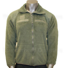 Polartec ECWCS FLEECE JACKET Gen III FOLIAGE Green US Army USGI MEDIUM REG VGC