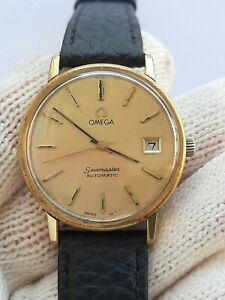 OMEGA WATCH SEAMASTER 166.0202 AUTOMATIC CAL.1012  MENS 34.5mm SWISS SERVICED