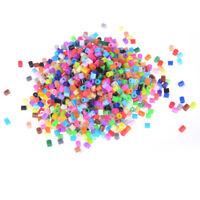1000Pcs/Bag 5mm Hama Beads Perler Beads Kids Education DIY Toys Mixed Color Hs
