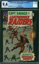 Captain Savage # 5 CGC 9.4 -- 1968 -- Fantucchio Pedigree.  Ayers. #0360873012