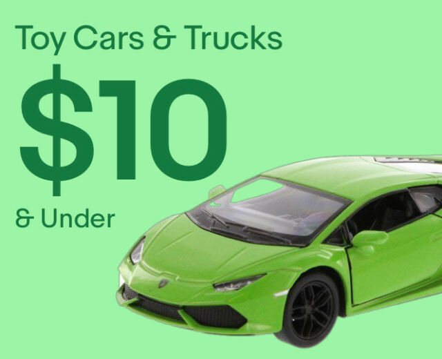 Toy Cars & Trucks $10 & Under