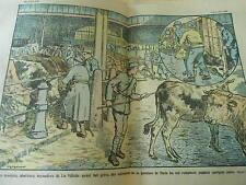 Les Bouviers abatteurs boyaudiers de la Vilette ayant fait grève Print 1928