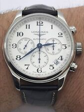 LONGINES MASTER COLLECTION AUTOMATIC CHRONOGRAPH MENS XL44mm SWISS EXELLENT