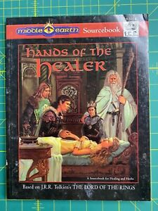 MERP - Hands of the Healer - 2nd Edition (VG+, Very Rare, Long OOP)