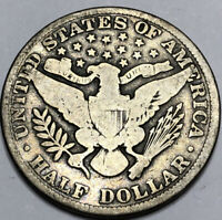 1913 Barber Silver Half in a SAFLIP® - VG- (Good+)