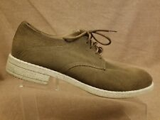 Marc New York Andrew Marc Men Suede Brown Lace Up Oxford Casual Shoes Size 10.5