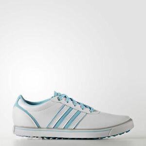 adidas Ladies Adicross V Golf Shoe Sizes 4-8 White RRP £70 Brand New Q44687