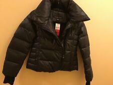 andrew marc down jacket asymmetrical zip Girls 10/12M NWT