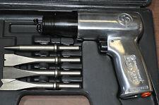 Chicago Pneumatic Zip Gun Cp 711K  Air Hammer W/4 alloy chisel set CE proof ,USA