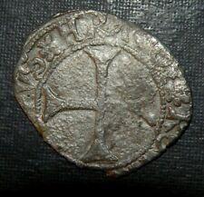 Medieval Silver Coin Lot 1300's Ad Crusader Templar Cross Ancient Fish Dolphin