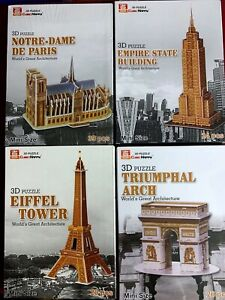 Cubic Happy 3D Puzzles - Architectural Buildings from Around The World