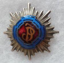 Insigne émail Médaille Croix Régiment Pologne à identifier POLAND CROSS ?