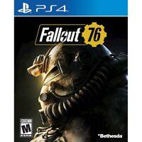 New Fallout 76 PS4 PlayStation 4 LATAM Latin America Region Free Import