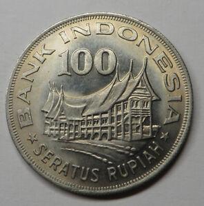 Indonesia 100 Rupiah 1978 Copper-Nickel KM#42 UNC