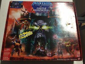 Masters of the Universe Castle Greyskull Vintage 200x He-man MOTU in Box