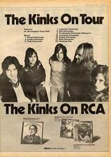 Kinks 1974 UK tour/advert MM-XZAW