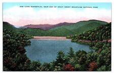 Mid-1900s Lake Santeetlah, Great Smoky Mountains National Park Postcard