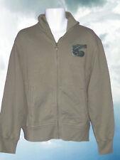 NEW NIKE NSW TRACK & FIELD Fleece Cotton Jacket Military Green Fleece Jackets L