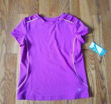Old Navy Girls Small 6/7 Purple UPF 50 Top Short Sleeve Activewear