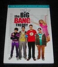 THE BIG BANG THEORY COMPLETE SEASON TWO DVD