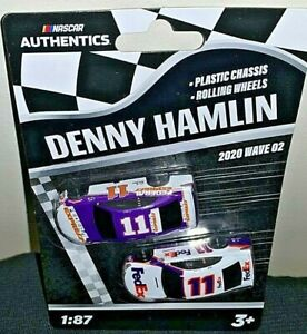 NASCAR AUTHENTICS 2020 1/87 #11 DENNY HAMLIN FEDERAL EXPRESS/FEDEX WAVE 2 NEW!