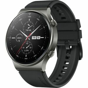 Huawei WATCH GT 2 Pro SmartWatch Water resistant 46mm AMOLED Touchscreen 4GB BLK