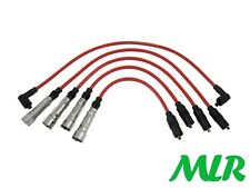 AUDI 80 QUATTRO 100 COUPE RED 8MM SILICONE IGNITION HT LEADS WIRES MLR.BS
