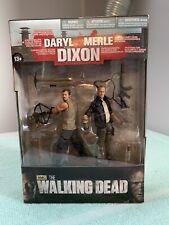 Mcfarlane Series 4 Daryl Dixon & Merle Dixon The Walking Dead Action Figure Set