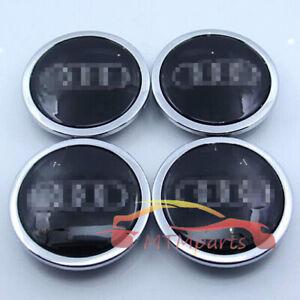 Wheel Center Hub Caps 69mm Emblems Badges Logo 4B0601170A for Audi A3 A4 A5 A6