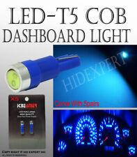 10 piece LED T5 COB Blue Dash Board Smoke Tray Glove Box Indicator Bulbs T125