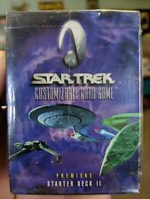 New Sealed box: Star Trek Customizable Card Game Premier Starter Deck II