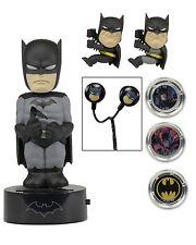 DC Comics - Batman Gift Set - Scalers, Hubsnaps, Body Knocker, & Earbuds - NECA