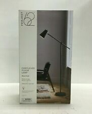 Project 62 Cantilever Floor Lamp Light, 62 Inch, Bell Shade, Black
