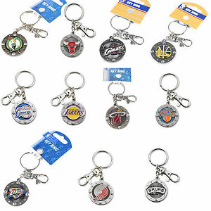 impact keychain key ring clip NBA PICK YOUR TEAM