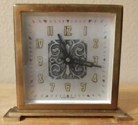USA Made Pre-War Guest Desk Clock 1920's