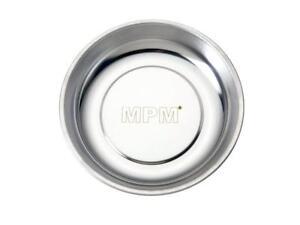 4x Edelstahl Magnetschale Magnetteller Haftschale rund 150 mm Schrauben Muttern