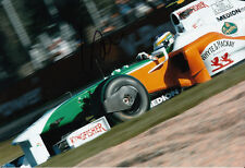 Giancarlo Fisichella Hand Signed Force India Photo 12x8 1.