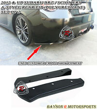 A-Style Rear Lip Aprons (Urethane) Fits 12-17 Scion FR-S Toyota 86