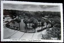 PORTUGAL~1950's CALDAS DA RAINHA ~ Vista do Parque do Copa ~ Real Photo PC RPPC
