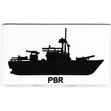 River Patrol Boat PBR Silhouette Patch