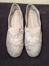 Sz 7 Rockland Women's Gray Mesh Eyelet Shoes