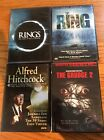 Lot of 4 horror/thriller DVDs in cases Used