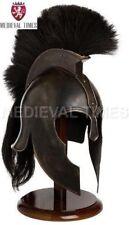Troy Achilles Armor Helmet Medieval Knight Crusader Greek Spartan Helmet Gift c1